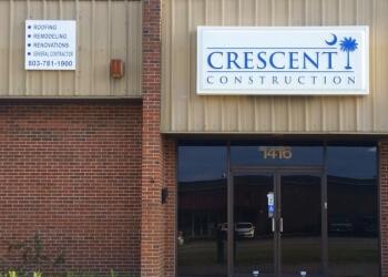 Columbia roofing contractor Crescent Construction, LLC.