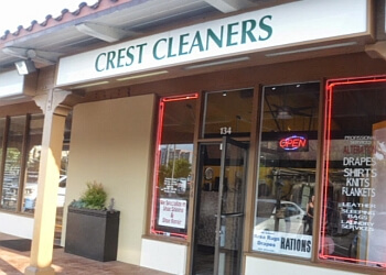 Santa Ana dry cleaner Crest Cleaners