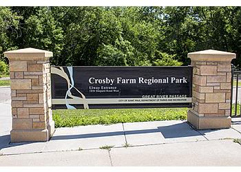 St Paul hiking trail Crosby Farm Regional Park Trail