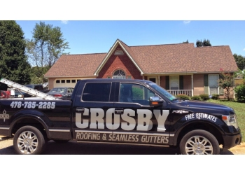 Augusta roofing contractor Crosby Roofing & Seamless Gutters