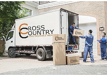 Albuquerque moving company Cross Country Long Distance Movers