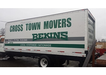 Eugene moving company Cross Town Moving Centers