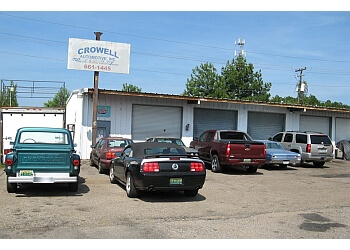 Mobile car repair shop Crowell Automotive, INC.