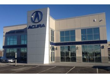 Cleveland car dealership Crown Acura