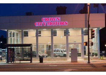 Pasadena used car dealer Crown City Motors