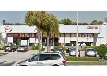 St Petersburg car dealership Crown Kia