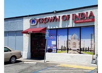 Los Angeles indian restaurant Crown Of India