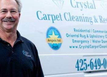 Bellevue carpet cleaner Crystal Carpet Cleaning and Restoration, Inc.