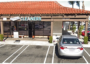 Orange dry cleaner Crystal Clear Cleaners