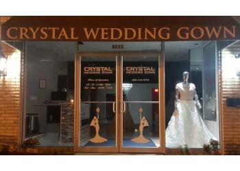Louisville bridal shop Crystal Wedding Gown