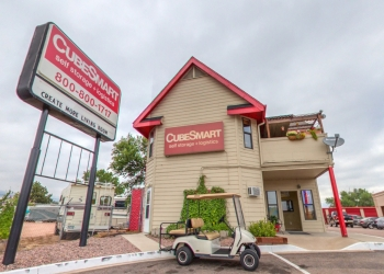 Colorado Springs storage unit CubeSmart Self Storage
