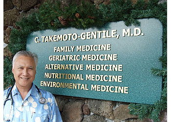 Honolulu primary care physician Curtis Takemoto-Gentile, MD
