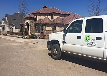 Amarillo landscaping company Custom Gardens