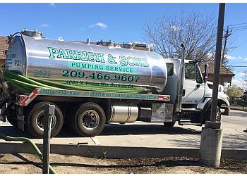 Stockton septic tank service D A Parrish & Sons, Inc.