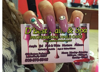 Louisville nail salon D'Best Nails & Spa
