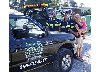 Huntsville towing company DC TOWING LLC