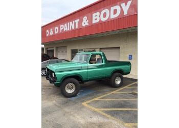 Killeen auto body shop D & D Body Shop
