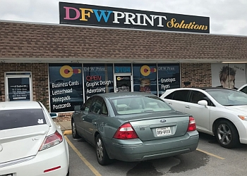 Fort Worth printing service DFW Print Solutions