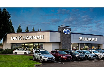 Vancouver car dealership DICK HANNAH SUBARU