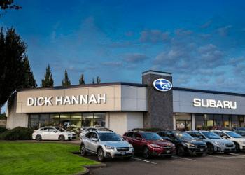 Vancouver car dealership DICK HANNAH SUBARU