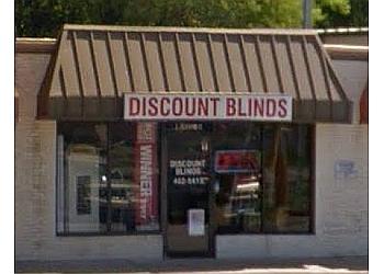 Chesapeake window treatment store DISCOUNT BLINDS INC.