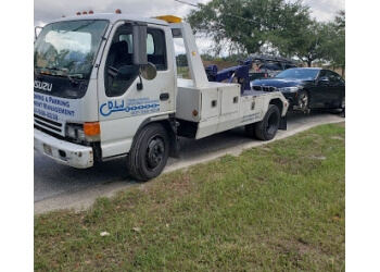 Orlando towing company DLJ Towing & Roadside Assistance