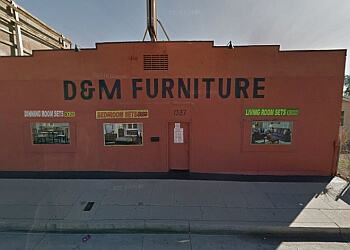 San Bernardino furniture store D&M Furniture