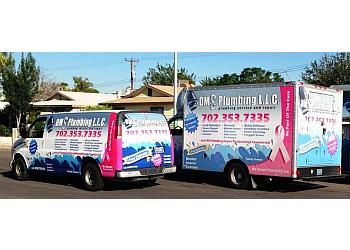 Las Vegas plumber DMS PLUMBING LLC.