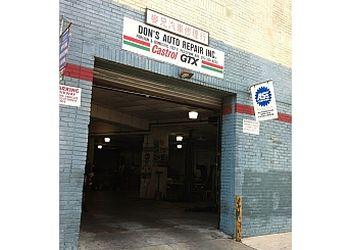 Philadelphia car repair shop DON'S AUTO REPAIR INC.