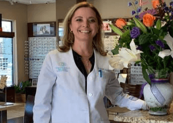 West Palm Beach pediatric optometrist DR. April Jasper, OD, FAAO