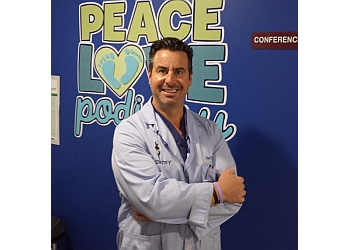 Cleveland podiatrist DR. ROBERT T. PORTNOW, DPM
