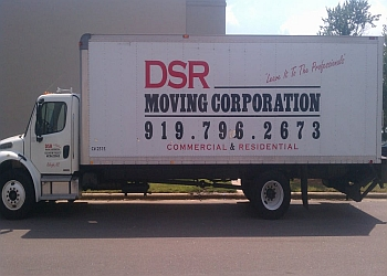 Raleigh moving company DSR Moving Corporation