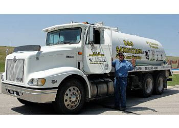 Topeka septic tank service D & S Sanitation