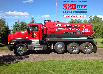 Minneapolis septic tank service D&T Septic Services