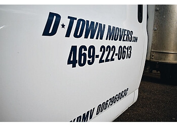 Plano moving company D Town Movers