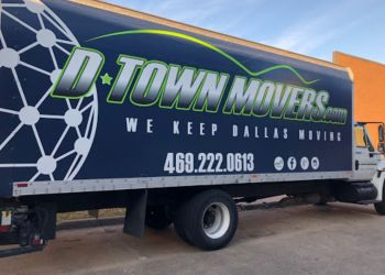 Plano moving company D-Town Movers inc.