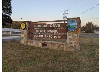 Clarksville hiking trail DUNBAR CAVE STATE PARK
