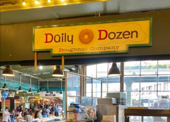 Seattle donut shop Daily Dozen Doughnut Company