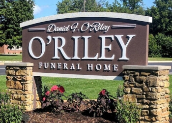 Indianapolis funeral home Daniel F. O'Riley Funeral Home