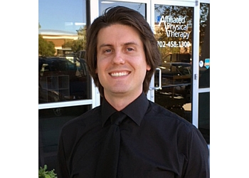 Henderson physical therapist Danny Wilcox, DPT