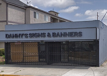 Long Beach sign company Danny's Signs