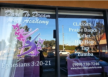 Fontana dance school Dare To Dream Arts Academy