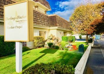 San Jose funeral home Darling & Fischer Garden Chapel