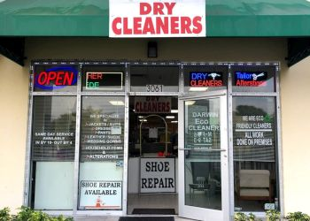Port St Lucie dry cleaner Darwin Eco Dry Cleaners