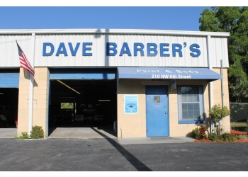 Gainesville auto body shop Dave Barber's Paint & Body Inc
