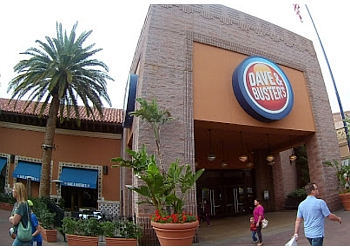 All ages are welcome at Dave & Buster's. Minors under 21 years old must be accompanied by an adult age 25 or older. There is a maximum of 6 minors to each adult age 25 or gnula.mlon: S Baldwin Ave, Arcadia,