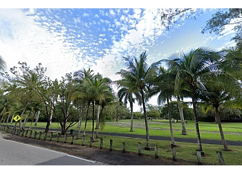 Miami public park David T. Kennedy Park