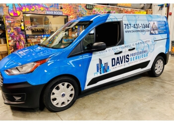 Chesapeake commercial cleaning service Davis Professional Services