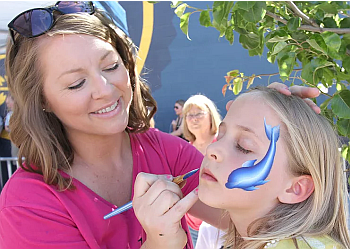 Boise City face painting Daydream Face Painting