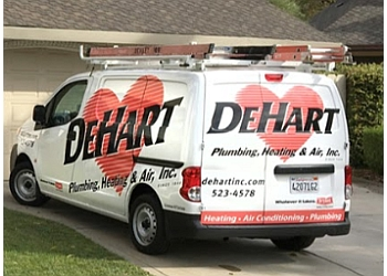 Modesto hvac service DeHart Plumbing, Heating & Air, Inc.